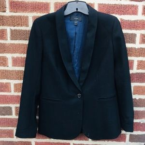J. Crew Black Wool Blazer